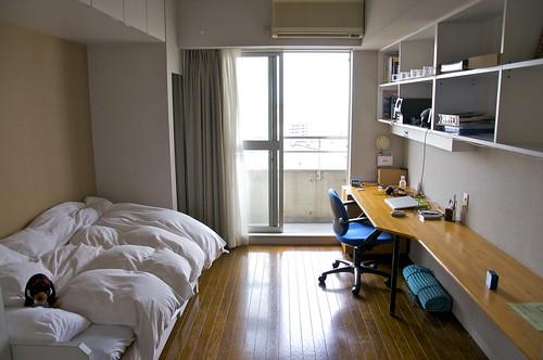 My room in Yokohama International Students House