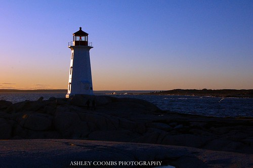 Ashley Coombs|Peggy's Cove Lighthouse 2. Peggy's Cove Lighthouse 2