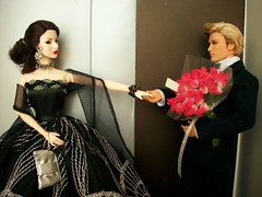 Introduction (napudollworld) Tags: black fashion festive james ooak von ken barbie harley tuxedo bond agnes gown davidson weiss royalty decadence pivotal baronness