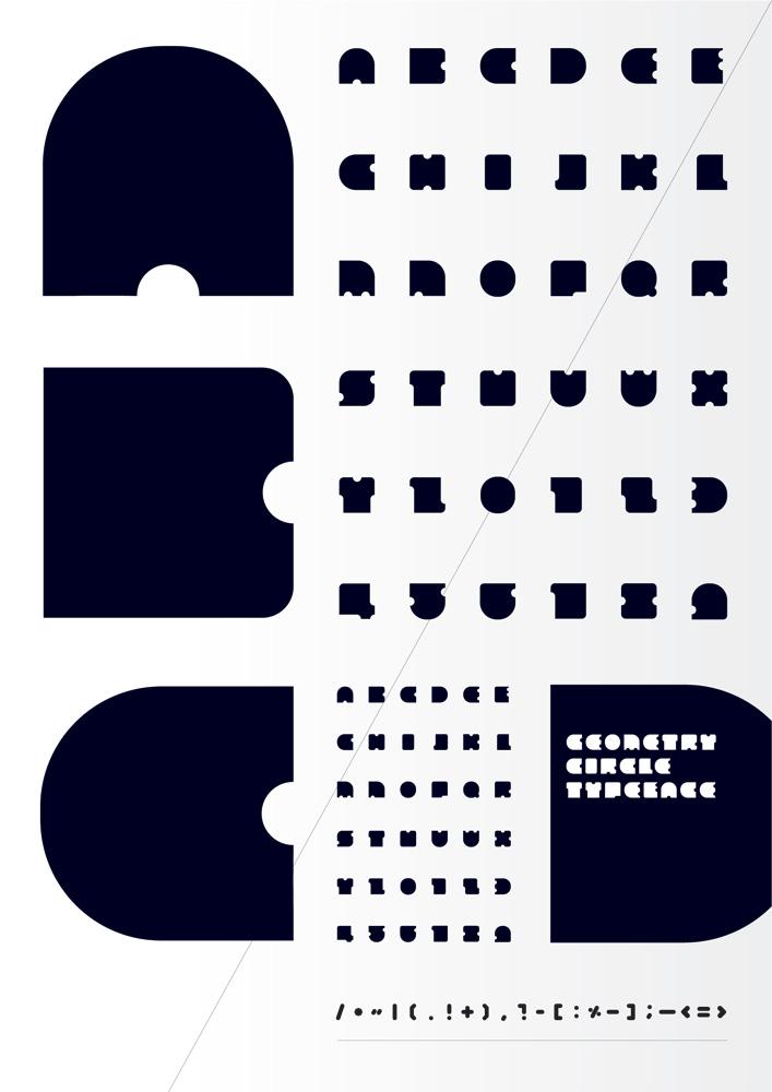 Geometry Circle Typeface