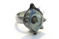 IMG_4693 (cora v d peijl) Tags: glass set necklace beads handmade bracelet glassbeads kralen ketting focal silverglass handgemaakt glaskralen glassbeadart zilverglas