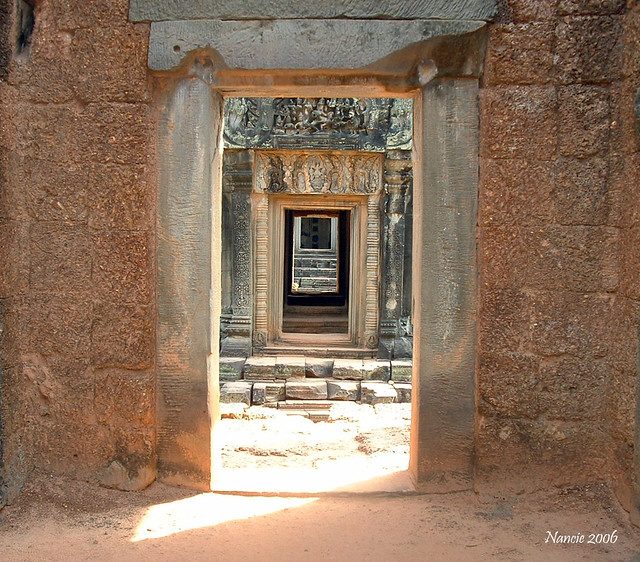 A Doorway into the past..............Angkor Wat