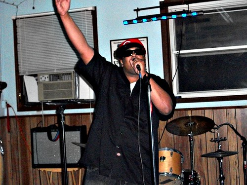 Kese performing at Tony Green's Birthday Party