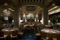 Palm Court Banquet (The Drake Hotel Chicago) Tags: palmcourt drakehotel specialevent drake11 dopplr:stay=l231