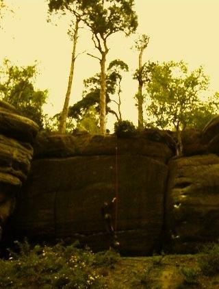 High rocks climbers
