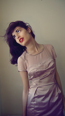 (miss sundress) Tags: pink red girl hair colours dress purple lip stick miss sundress reem alsabah misssundress lupsticj