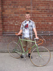 Ryan's Mercian Track Bike .. (Mark Gell) Tags: england bike bicycle wheel fix cycling track gear made cycle fixed fixie mallard derby brooks mavic mercian campag campagnola wednesdaypubride