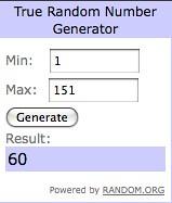 random # generator