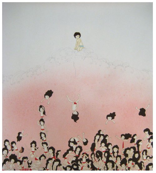 Kyung Jeon, Pushing Down, 2008
