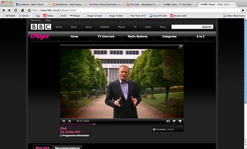 Me on BBC Click