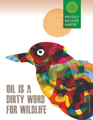 (freestylee) Tags: ocean bird art poster gulf horizon pollution wetlands oil british bp spill oilplatform marinelife drilling petroleum marshes britishpetroleum michaelthompson