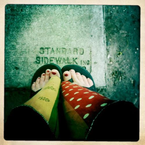 standard sidewalk