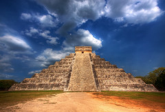 Mayan Pyramid of Kukulkan - Yucatan Mexico (DolliaSH) Tags: trip travel vacation holiday tourism latinamerica mxico canon movie mexico site topf50 ruins tour place pyramid maya melgibson visit location tourist chichenitza yucatn journey mayan mayanruins ruinas latinoamerica mexique destination traveling piramides visiting rivieramaya topf100 pyramide 1022mm touring precolumbian chichnitz archeological sitio pirmide mexiko marcaribe caribe ruines messico elcastillo canonefs1022mmf3545usm arqueolgico meksiko apocalypto culturamaya serpentplumes serpienteemplumada peninsuladeyucatan quetzalcatl meksyk mayanpyramids canoneos50d archologique mexik templodekukulkn new7wonder prcolombien new7wonderoftheworld templodekukulcn dollia dollias sheombar dolliash pirmidedekukulcn officialnew7wondersoftheworld ancientruinshistoricalarchitecture