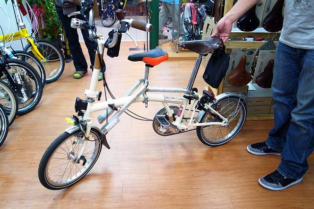 ibert child seat on a brompton? - Bike Forums