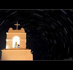 Startrails en San Pedro de Atacama (C R O) Tags: chile church canon stars noche iglesia campana cruz estrellas xs estrella sanpedro nigth startrails sanpedrodeatacama crog canonxs 1000d canon1000d