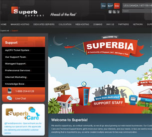 SuperbHosting Contact Information