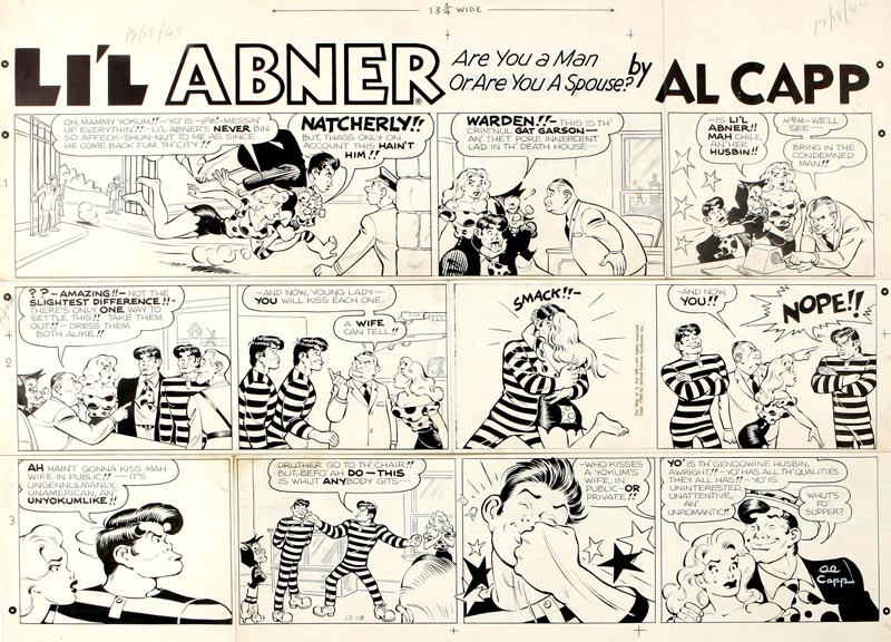 Li'l Abner Sunday Strip, 1960b