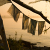 Lung Ta (Michael Mitchener) Tags: lake water sunrise flags prayerflags portfolio lakeontario squared lesliespit thespit lungta healinggarden seenonflickr michaelmitchenercom