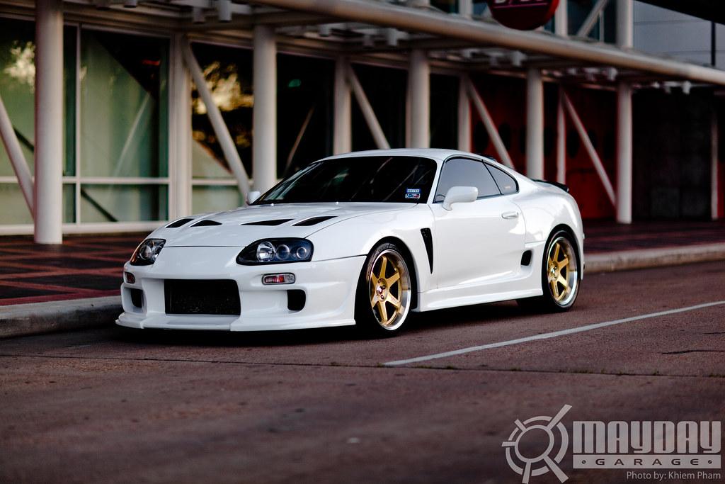 Like White On Rice  Steve Nuss  97′ MKIV Toyota Supra.  46fcb5c6abf5