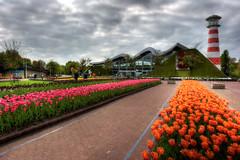 City Gate (Esther Seijmonsbergen) Tags: holland tulips thenetherlands denhaag thehague hdr themepark madurodam sgravenhage 5xp estherseijmonsbergen wwwdigitalexposurephotographycom minitiatureholland