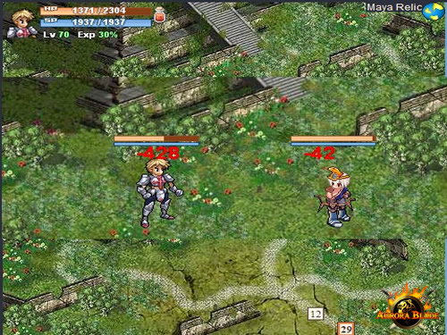MMO Aurora Blade offers new version, Gem processing and more
