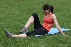 S pevnými břišními svaly k efektivnějšímu běhu