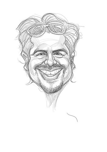 digital sketch of Alan Hermosillo Ibrarra - 1a