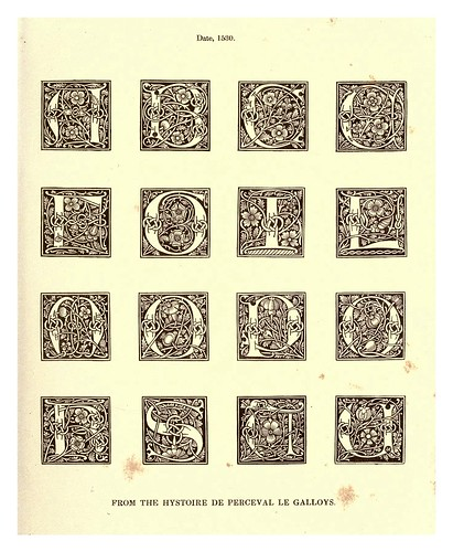 013-Siglo XVI-The hand book of mediaeval alphabets and devices (1856)- Henry Shaw