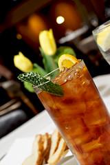 Tea Time (reefbubbles) Tags: food saint dinner star restaurant louis tea five missouri iced tonys