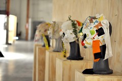 Melodie Mousset masks (AT1 Projects) Tags: art losangeles volume at1projects