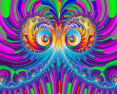 Fractal Feathers (Rosemarie.s.w) Tags: fractal chaospro4