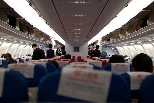 Plane to Shanghai