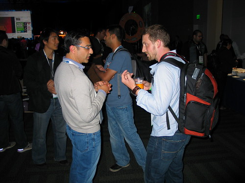 Frédéric Monet and Vic Gundotra @ Google IO