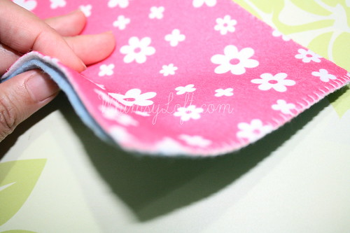 Tutorial : Simple Felt Purse 2