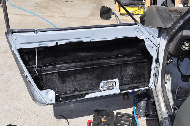 40 pounds $40, gutting the doors