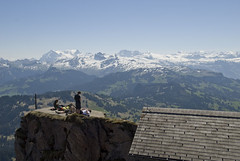 Gipfel des Grossen Mythen (mwellner) Tags: schweiz bergwandern kantonschwyz grosermythen