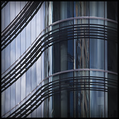 shining! (rita vita finzi) Tags: detail london glass lines architecture buildings reflections curves brilliant urbanabstraction londonrocks jibbr somewhereincanarywharf sexyarchitectured