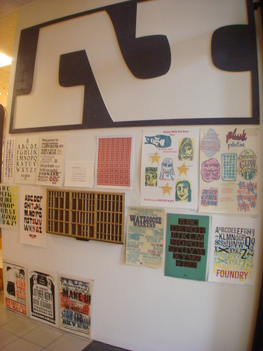 Pressed: an exhibition of letterpress printed ephemera