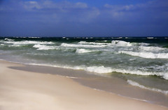 Come Walk With Me (Mona Hura) Tags: santa sea sun west beach gulfofmexico by mexico island warm surf gulf florida north warmth rosa wave sound embrace sounds toc panhandle pensacolabeach embraces soothe soothed comewalkwithme 9040tonemappeda