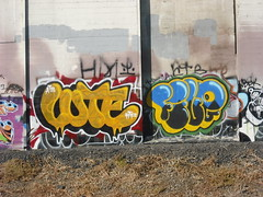 Luter, Five graffiti - Oakland, Ca (EndlessCanvas.com) Tags: graffiti oakland bay five east stm lute throw atb htf throwie luter iok