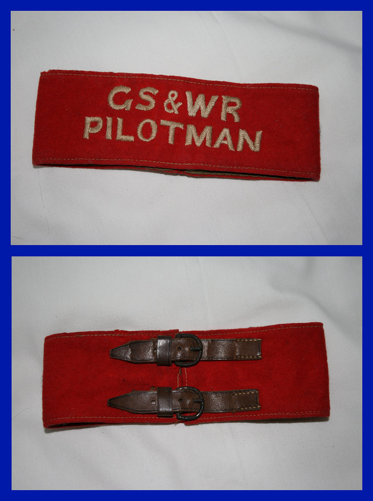 GS&WR Pilotman Armband , Given to me by my Grandad when I was about 6 years old.