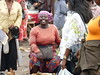 Woman in market