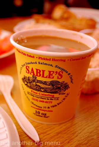 New York - Sable's bagels