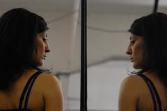 foto ritratto specchio