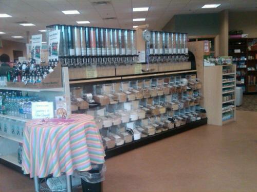 Healthyu bulk aisle