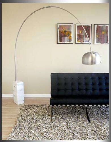 Arco Castiglio Italian Lamp Retro Arc Floor Lamps