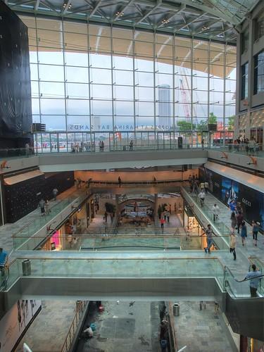 金沙綜合娛樂城內部還在裝修,結果就開放了