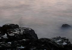 Going Home 2 | Voltando para casa (Andre Carregal) Tags: shadow portugal water gua fisherman rocks long exposure porto ghosts algarve sombras pedras covo pescador fantasmas exposio longa sooc