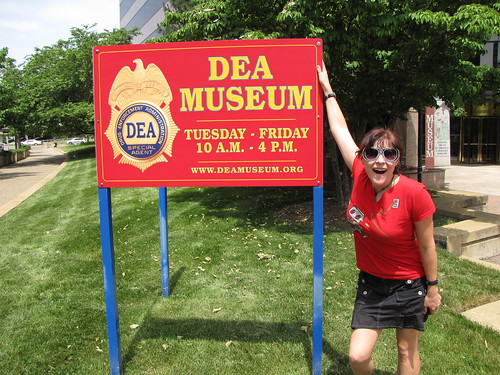 Outside the museum