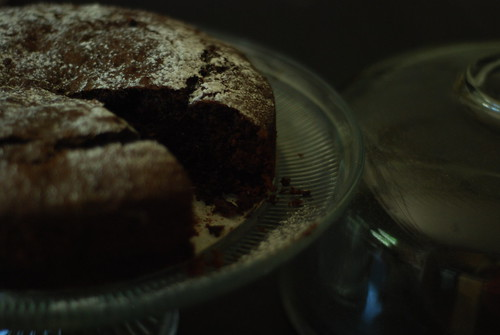 When life gives you too much zucchini ... bake a chocolate cake!